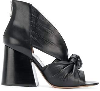 Maison Margiela bow front sandals