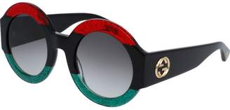Gucci Fashion sunglasses 0048s red-black-grey 51 mm