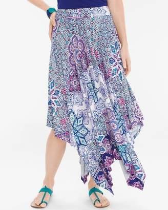 Tiled Geo Maxi Skirt