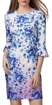 Women's Donna Morgan Bell Sleeve Dress $118 thestylecure.com