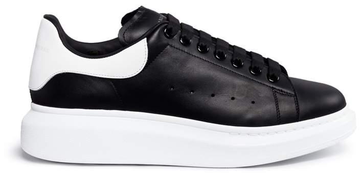 Alexander McQueenAlexander McQueen 'Larry' platform leather sneakers