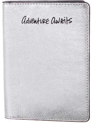 Rebecca Minkoff Metallic Passport Holder