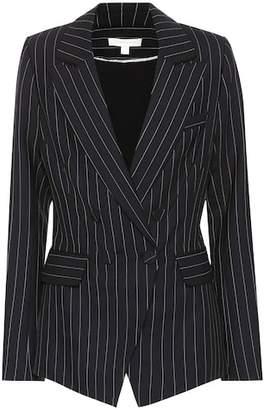 Jonathan Simkhai Striped wool-blend blazer
