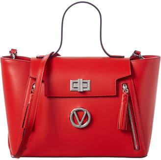 Mario Valentino Valentino By Camilla Soave Top Handle Leather Satchel