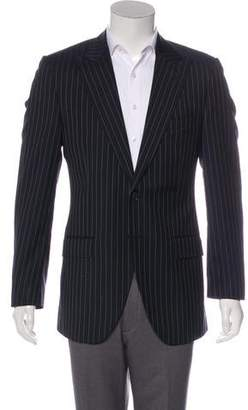 Dolce & Gabbana Pinstriped Two-Button Blazer
