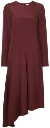 Tibi open back asymmetrical dress