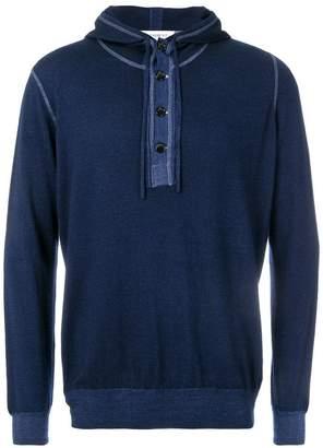 President'S long-sleeve hooded sweater