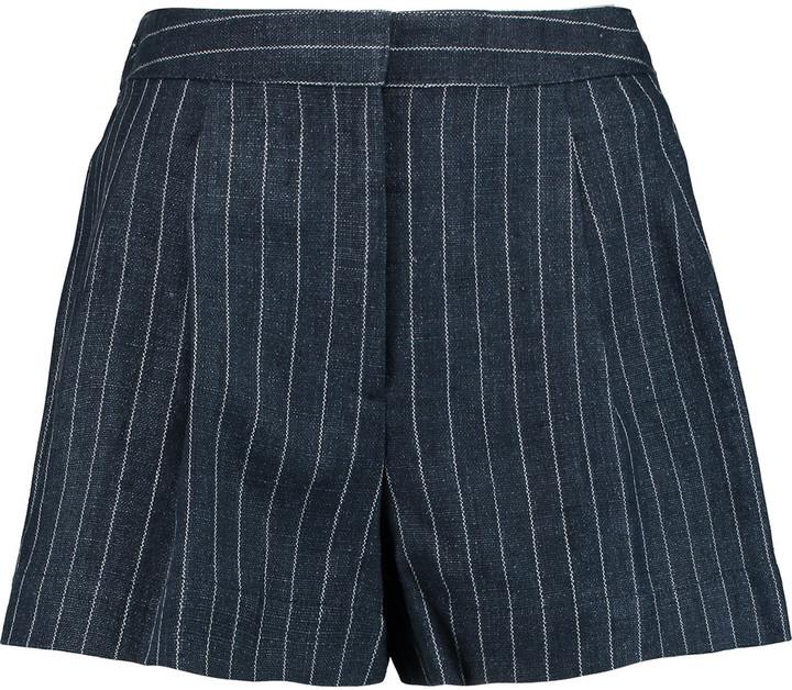 3.1 Phillip Lim3.1 Phillip Lim Pinstriped linen shorts