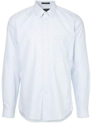 Durban D'urban striped wrinkle free shirt