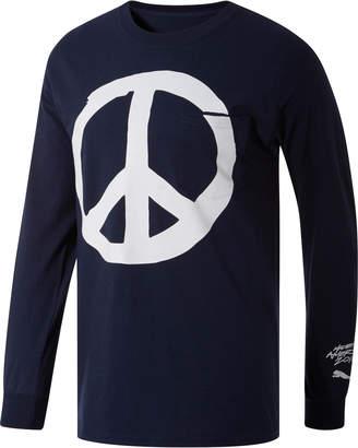 PUMA Peace + Love x MIA x Josh Vides Men's Classic Long Sleeve Pocket T-Shirt