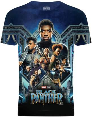 Marvel Black Panther Heroes Graphic T-Shirt (XL)