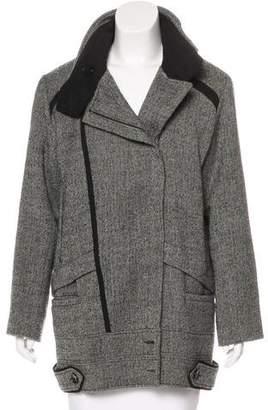 IRO Wool-Blend Short Coat