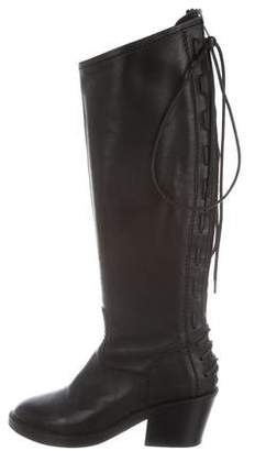 Haider Ackermann Leather Knee-Length Boots