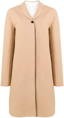 Jil Sander concealed front coat