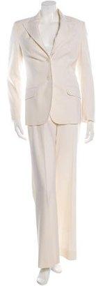 Michael Kors Virgin Wool Wide-Leg Pant Suit $175 thestylecure.com