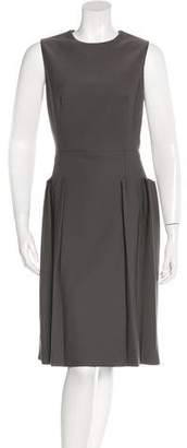 Bottega Veneta Sleeveless Wool Dress