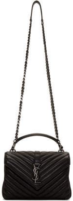 Saint Laurent Black Medium College Chain Bag