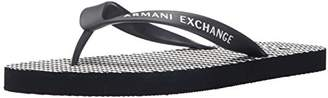Armani Exchange A|X Men's Stripe Flip Flop