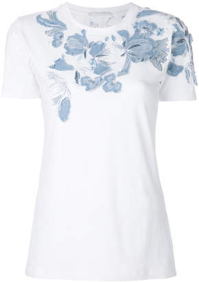 Ermanno Scervino floral embroidered T-shirt