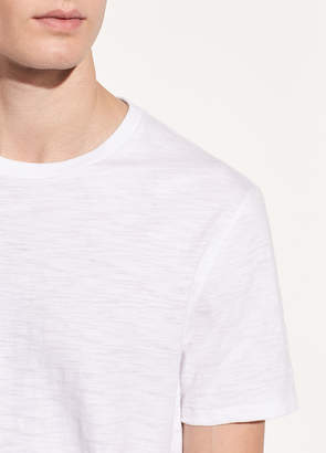 Slub Cotton Crewneck T-shirt