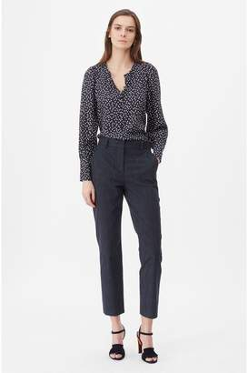 Rebecca Taylor Tailored Pinstripe Suiting Pant