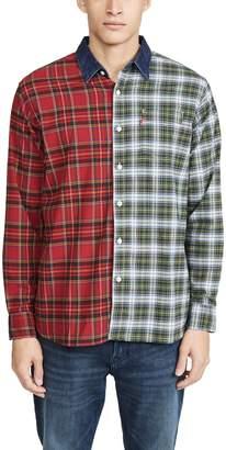 Levi's Pieced Sunset 1 Pocket Shirt