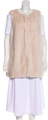 Calypso Oversize Faux Fur Vest