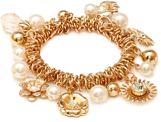Forever 21 Charming Flower Bracelet