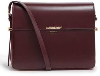 c51771416d Burberry Large Patent Leather Grace Bag