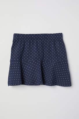H&M Cotton Skirt - Blue