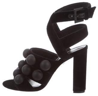 Ruthie Davis Ashlee Velvet Sandals