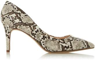 Dorothy Perkins Womens *Head Over Heels By Dune Multi Colour Snake Print 'Aisla' Court Shoes