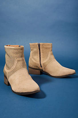 1b032625ad8 at Anthropologie Klub Nico Studded Suede Booties