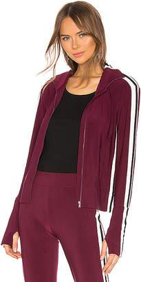 Norma Kamali Side Stripe Turtle Jacket