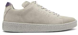 Eytys Ace Low Top Suede Trainers - Mens - Grey