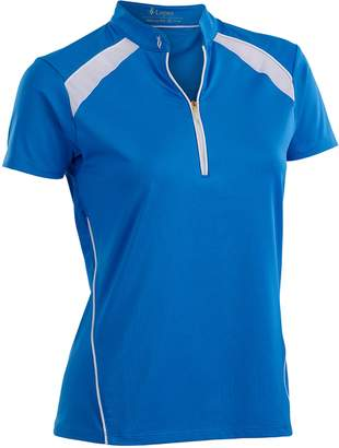 Plus Size Nancy Lopez Sporty Short Sleeve Golf Polo
