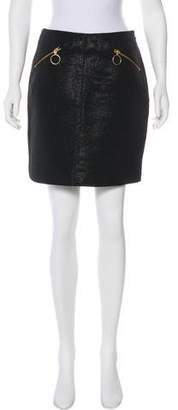 Opening Ceremony Textured Mini Skirt