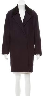 A.L.C. Wool Notch-Lapel Coat