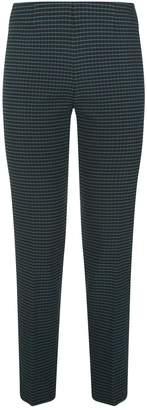 Piazza Sempione Check Slim Fit Trousers