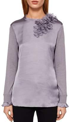Ted Baker Clerer Floral-Detail Sweater