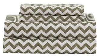 Duck River Textile Casey Chevron 6-Piece King Set - Taupe