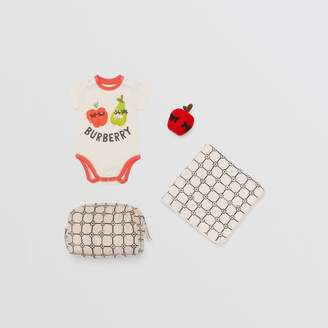 3312c5300bf Free Standard Shipping at Burberry · Burberry Childrens Fruit and Flower  Print Three-piece Baby Gift Set