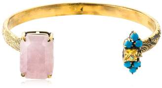 Iosselliani Quartz Bangle Bracelet