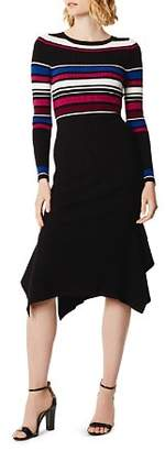 Karen Millen Striped Rib-Knit Dress - 100% Exclusive