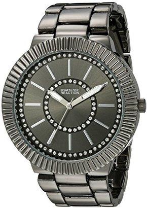 Kenneth Cole REACTION Women's 10021668 Street Analog Display Japanese Quartz Black Watch $65 thestylecure.com