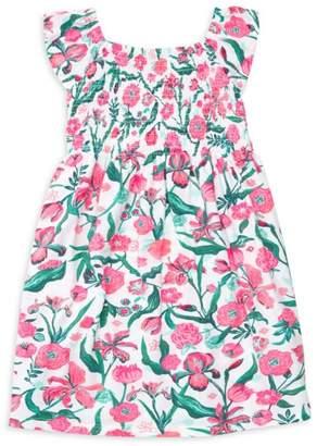 b585c62bb3 Hatley Little Girl s   Girl s Summer Flowers Smocked Dress
