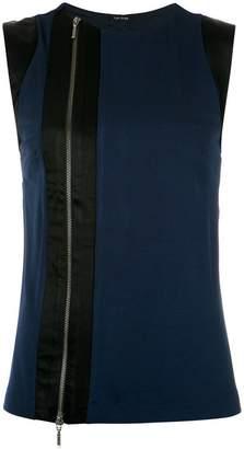 Tufi Duek vertical panels blouse