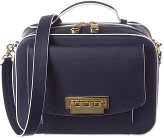 Zac Posen Earthette Leather Box Bag