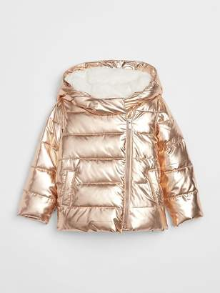 Gap ColdControl Max Metallic Puffer Jacket