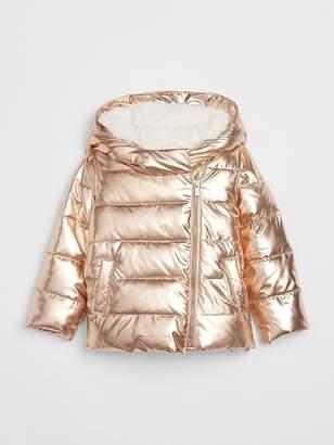 Gap ColdControl Max Down Metallic Puffer Jacket